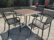 Cross Base Bistro Table Base Aluminum Table Leg 26'' Outdoor Furniture
