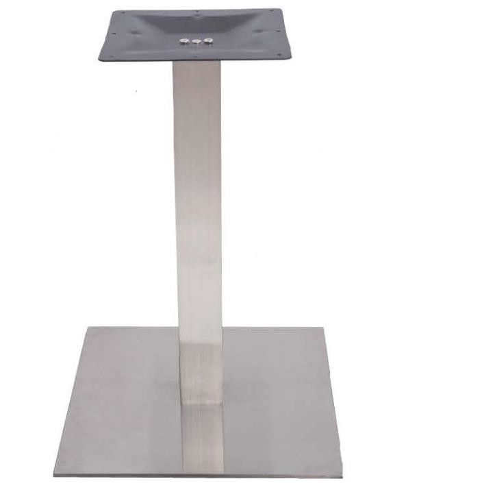Stainless Steel Table legs Metal Dining Table Base 720mm Height For Restaurant